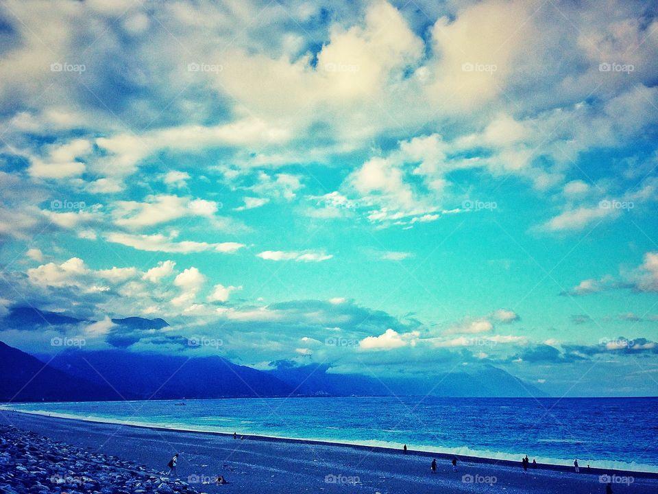 Hualien beaches. Taiwan