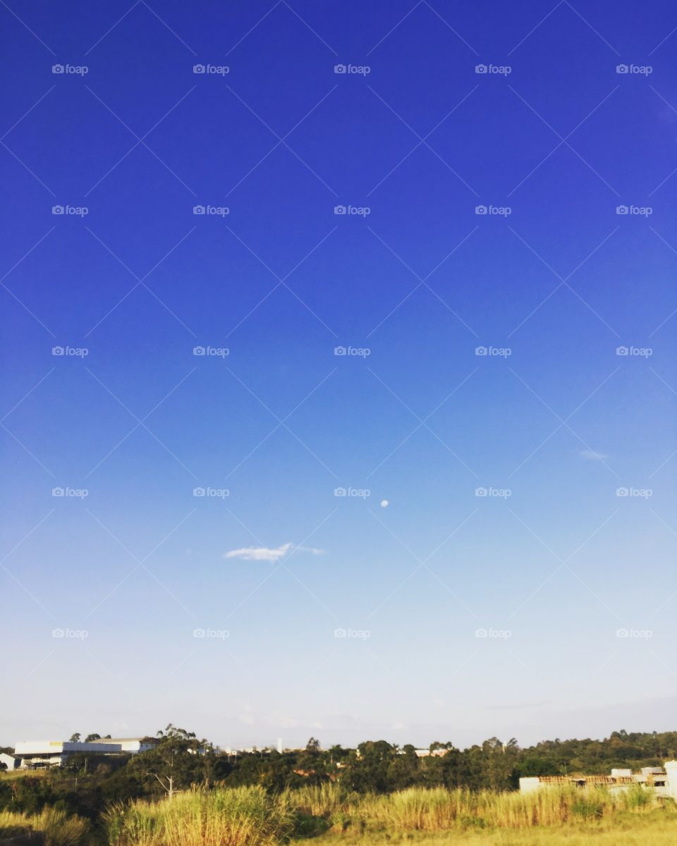 Infinito #céu! 📸 A #natureza é generosa. #Fotografia #Paisagem #Jundiaí #azul