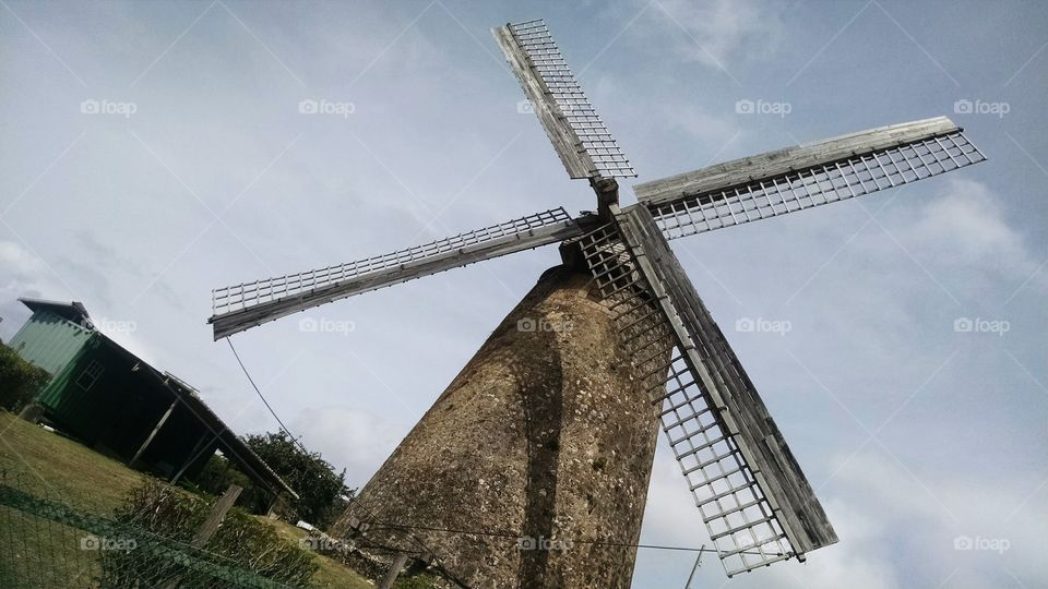 """Windmill in Barbados"""