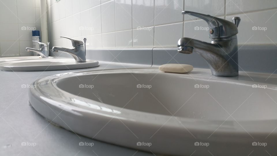 Sinks and soap