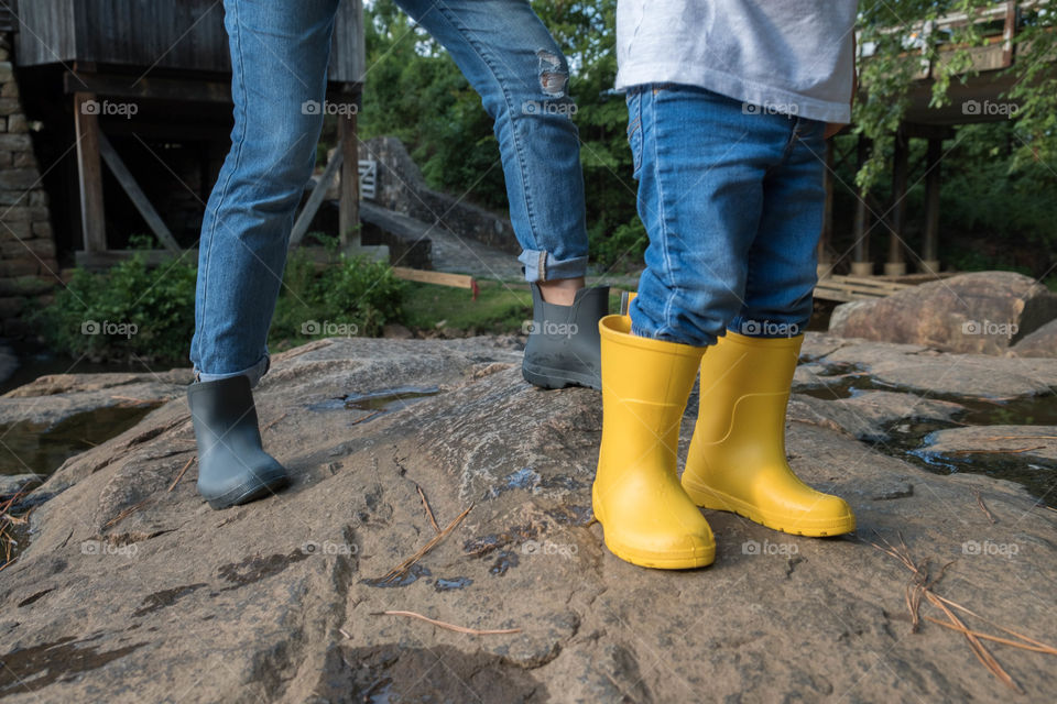 Totes rain boots, Mommy and Me