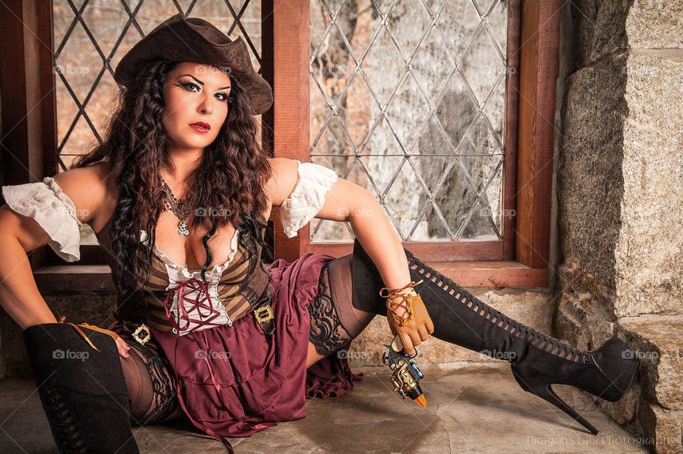 Foap com: Pirate Wench stock photo by laurinnichole