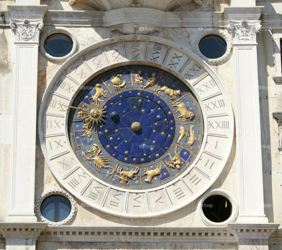 Astrological clock - Venezia / St Mark's clock