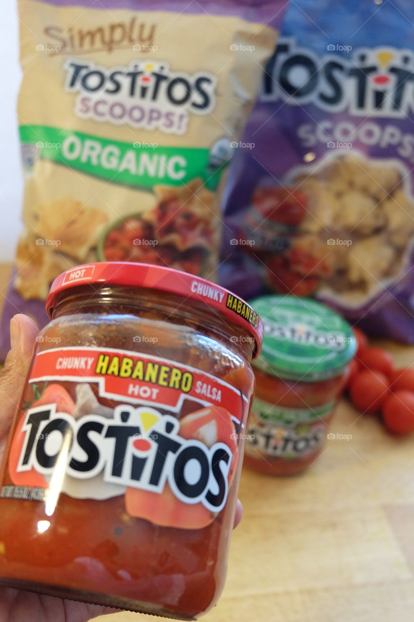 Tostitos chips and dips