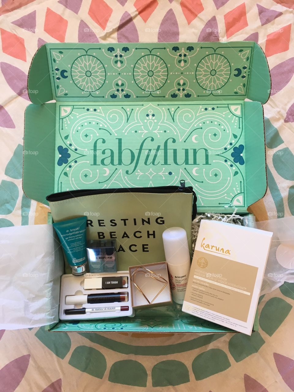 Fab Fit Fun Spring 2017 unboxing