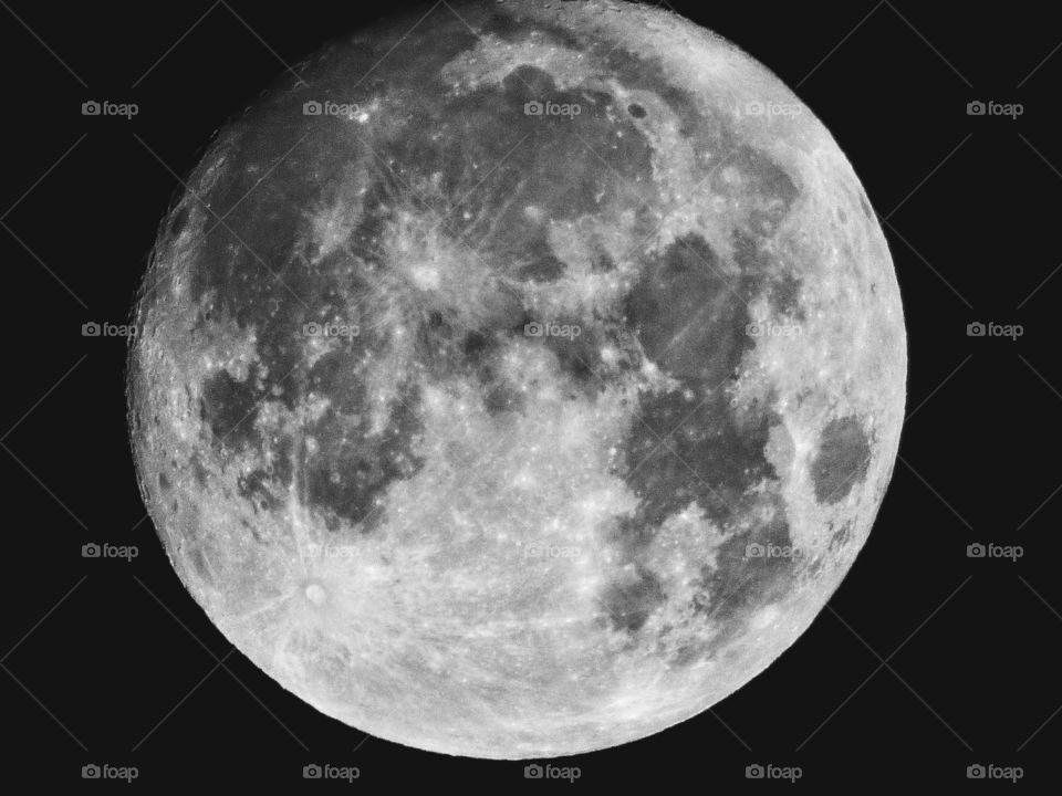 full moon, blue moon January