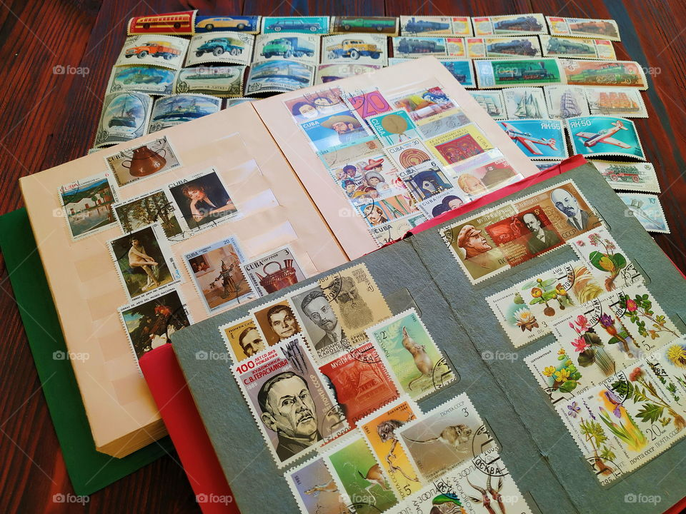 the collection of postmarks