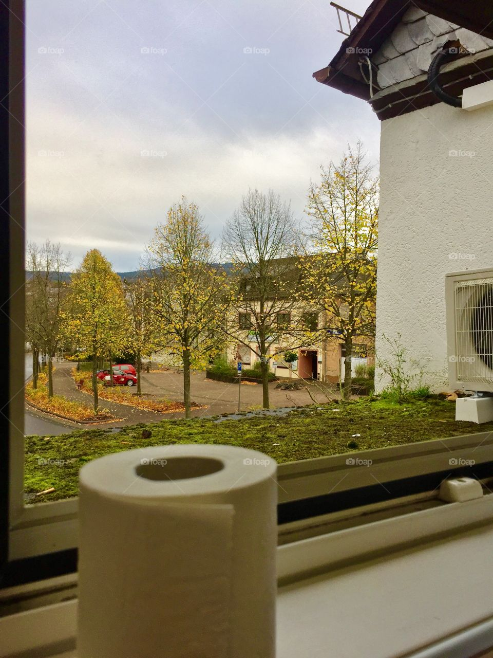 Some of the best views come from sitting on a thrown.  Morbach , Germany