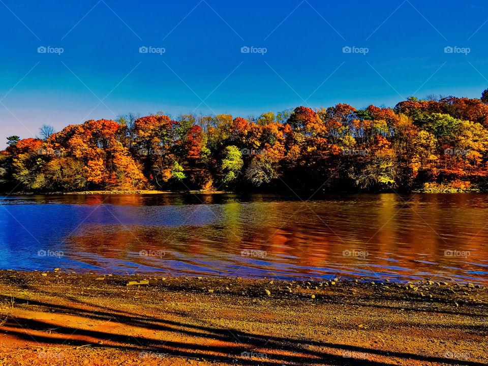 Autumn Across The River