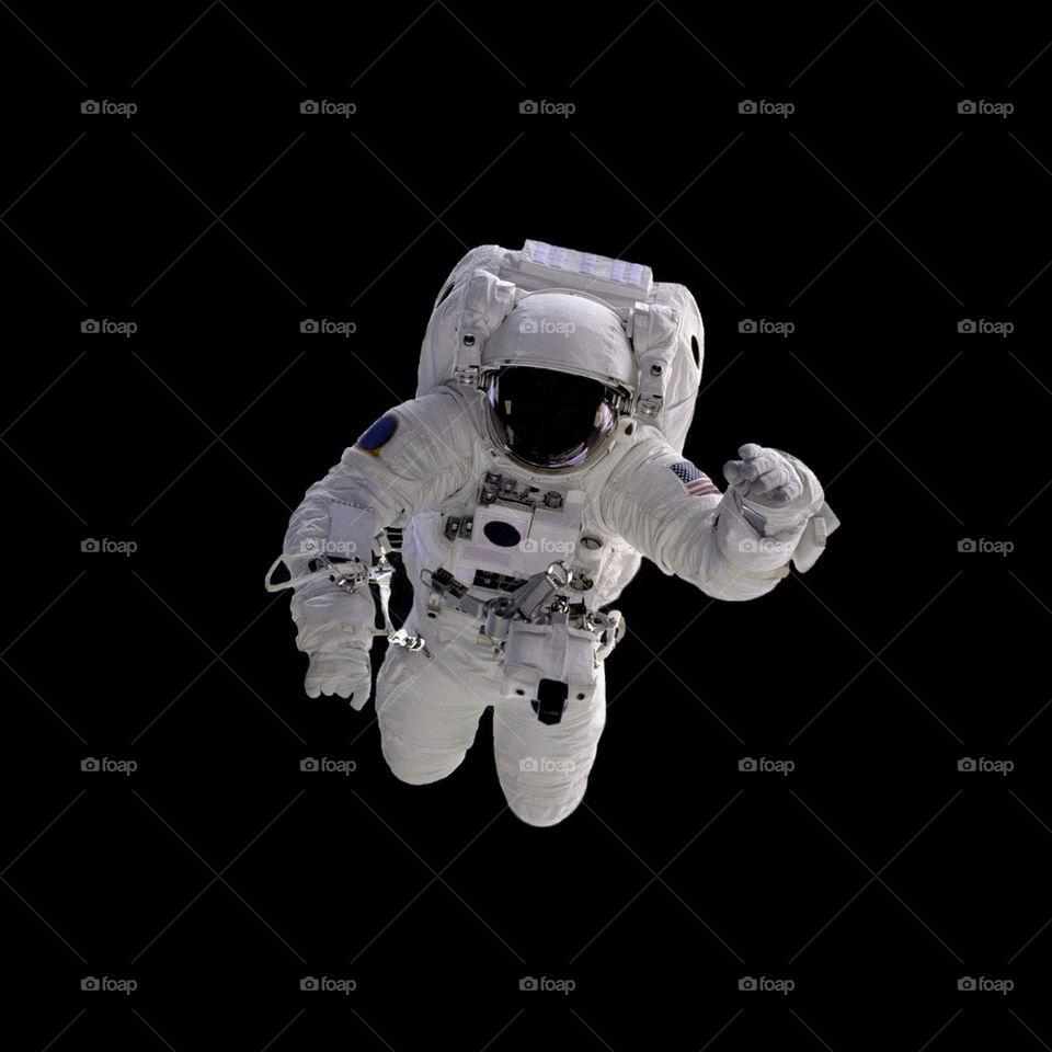 Astronaut Black
