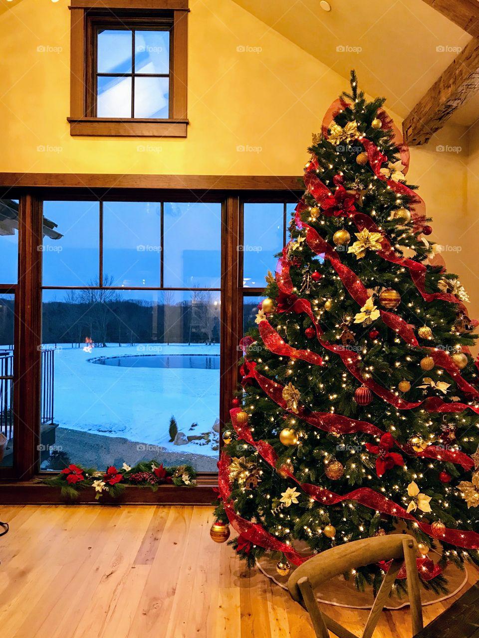 Christmas in NE Ohio, USA