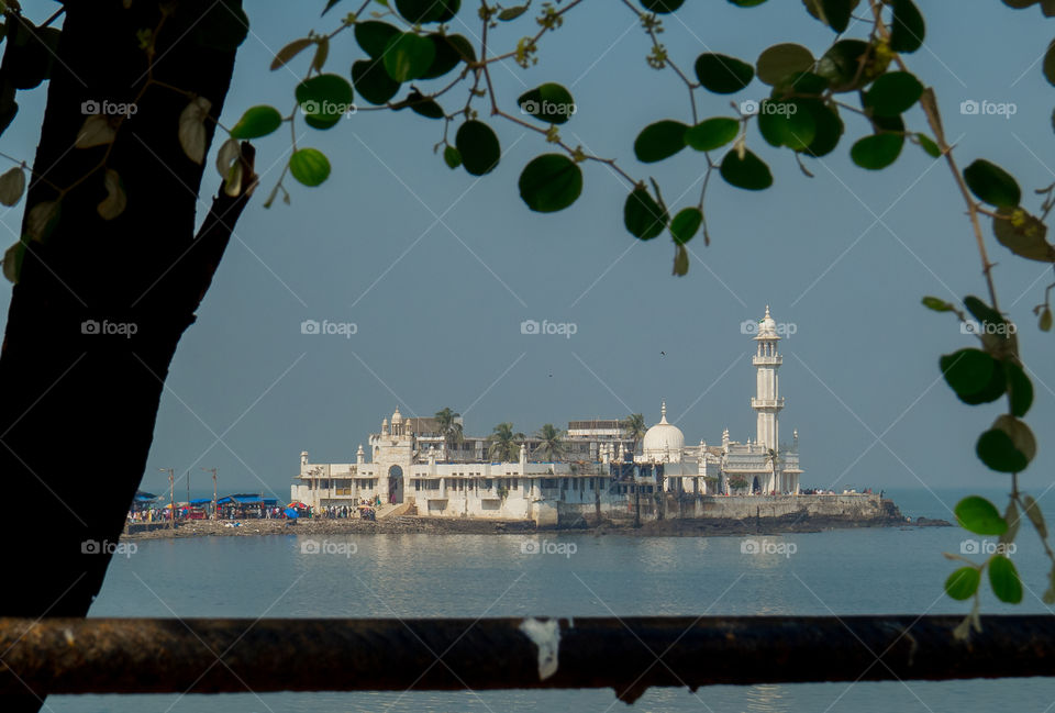 Haji Ali Dargah is a mosque and dargah (tomb) located on an islet off the coast of Worli in the southern part of Mumbai. Near the heart of the city proper, the dargah is one of the most recognisable landmarks of Mumbai.