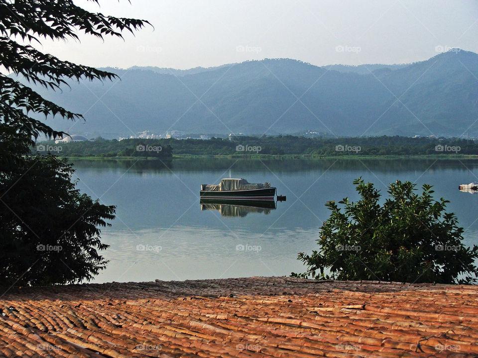 Sublime Serenity. Rawal Lake in Islamabad, Pakistan.